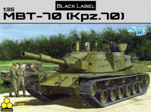 Dragon 3550 MBT 70 (KPz 70)