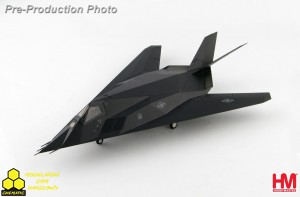 Hobby Master HA5807 Lockheed F-117A Nighthawk 85-831 (with Skunk Works artwork on the underside)