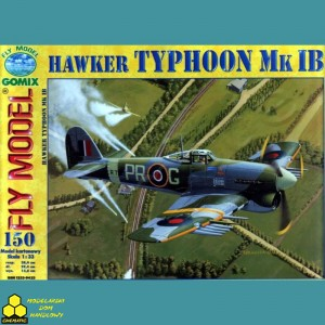 Fly Model Nr 150 Hawker Typhoon