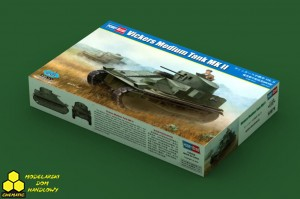 Hobby Boss 83879 Vickers Medium Tank MK II