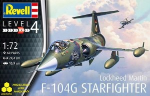 Revell 03904 Lockheed F-104 Starfighter.