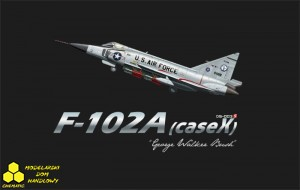 Meng DS-003S F-102A (CASE X)