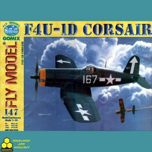 Fly Model Nr 147 F4U-1D Corsair