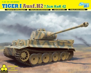 Dragon 6683 TIGER I Ausf.H2 7.5cm KwK 42