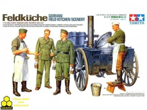 Tamiya 35247 Feldküche German Field Kitchen Scenery