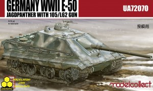 Modelcollect UA72070 Germany WWII E-50 STUG with 105/L62 gun