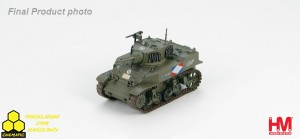 "Hobby Master HG4904 M5A1 Light Tank Free French, 1st Squadron, 2nd Regt. ""chasseurs d'Afrique"", 1st Armored Div. Rhine Crossing, April 1945"
