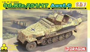 Dragon 6592 Sd.Kfz. 251/17 Ausf.C (2 in 1)