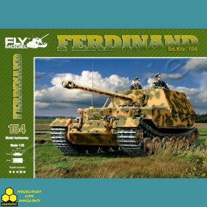 Fly Model Nr 154 Ferdinand Sd.Kfz.184