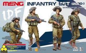 MENG HS-004 Unique IDF Infantry