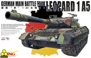 Meng TS-015 German Main Battle Tank Leopard 1 A5