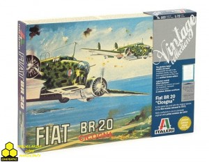 Italeri 103 Fiat BR.20 CICOGNA Vintage Collection