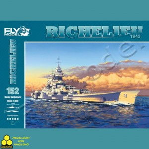 Fly Model Nr 152 Richelieu 1943