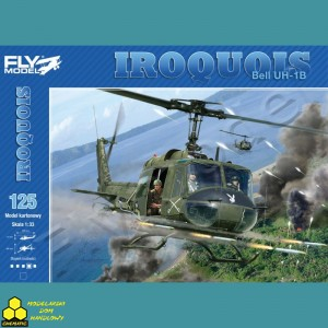 Fly Model Nr 125 Iroquois Bell UH-1B