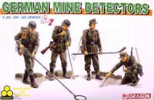 Dragon 6280 German Mine Detectors (Gen2)