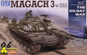 Dragon 3578 IDF Magach 3 w/ERA