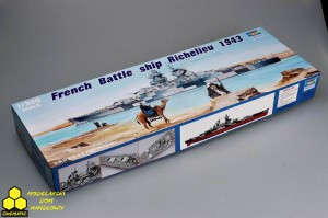 Trumpeter 05311 French Battleship Richelieu