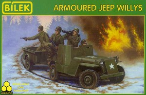 Bilek 890 Armoured Jeep Willys