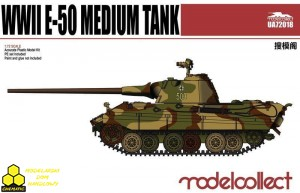 Modelcollect UA72018 Germany WWII E-50 Medium Tank