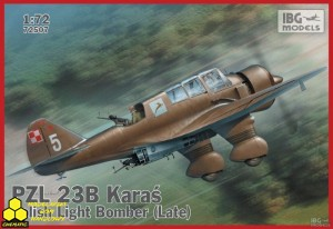 Ibg 72507 PZL 23B Karaś Polish Light Bomber late