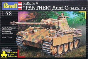 "Revell 03171 PzKpfw V ""Panther"" Ausf. G (Sd.Kfz. 171)"