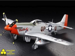Tamiya 23682 P-51D Mustang 334th FS Finished