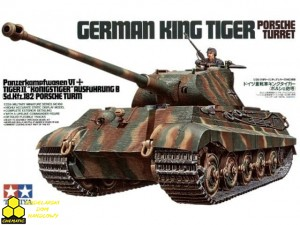 Tamiya 35169 German King Tiger Porsche Turret