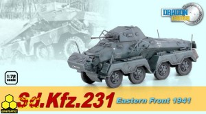 Dragon 60599 Sd.Kfz.231 Eastern Front 1941