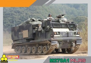 Dragon 3557 M270A1 Multiple Launch Rocket System (MLRS)
