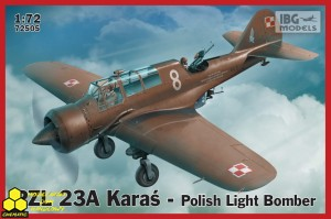 Ibg 72505 PZL 23A Karaś - Polish Light Bomber
