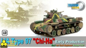 "Dragon 60429 IJA Type 97 ""Chi-Ha"" Early Production, Co.3, 1st Tank Regiment, Malaya 1941"
