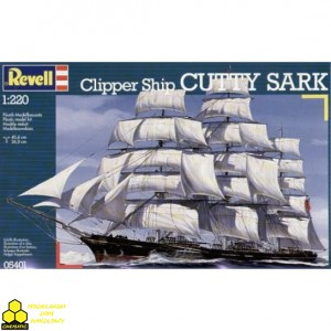 Revell 05401 Cutty Sark Clipper Ship