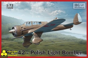 Ibg 72509 PZL.42 - Polish Light Bomber