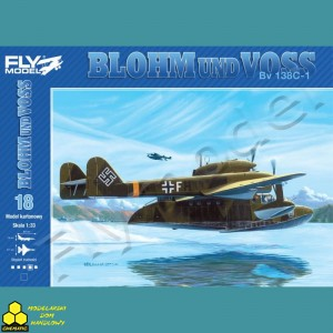 Model Kartonowy Fly Model Nr 18 BLOHM UND VOSS Bv 138C-1