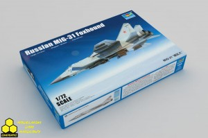 Trumpeter 01679 Russian MiG-31 Foxhound
