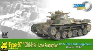 "Dragon 60434 IJA Type 97 ""Chi-Ha"" Late Production, Co.5, 9th Tank Regiment, Saipan 1944"