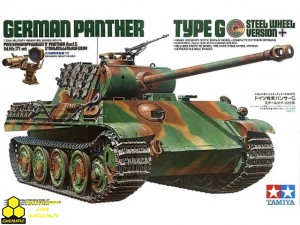 Tamiya 35174 German Panther Type G Steel Wheel Version